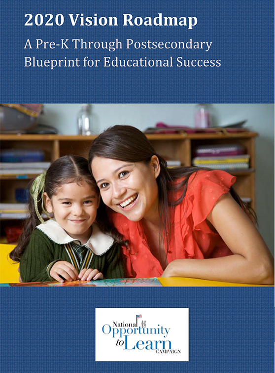 2020 Vision Roadmap: A Pre-K Through Postsecondary Blueprint for